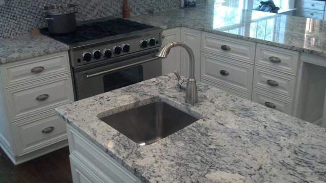 White Ice Kitchen Contemporary Kitchen Atlanta By