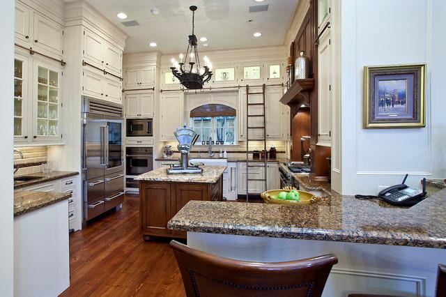 Rice University Residence traditional-kitchen