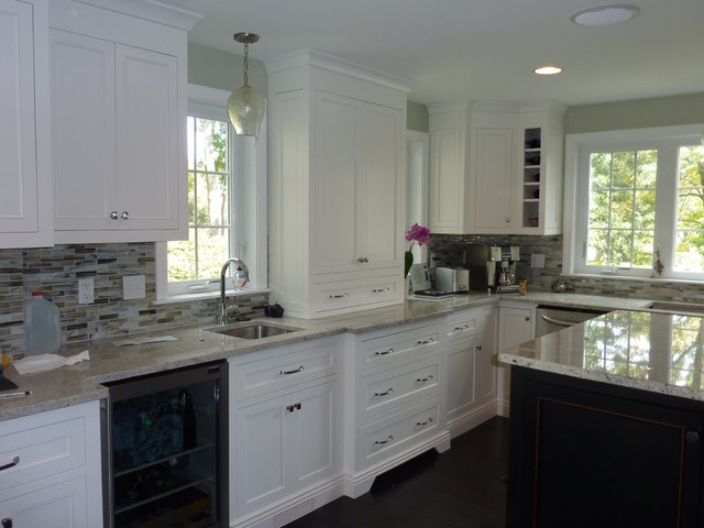 White is NOT Boring traditional-kitchen