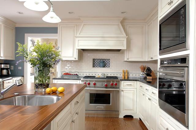 Custom Kitchen Cabinets-White traditional-kitchen