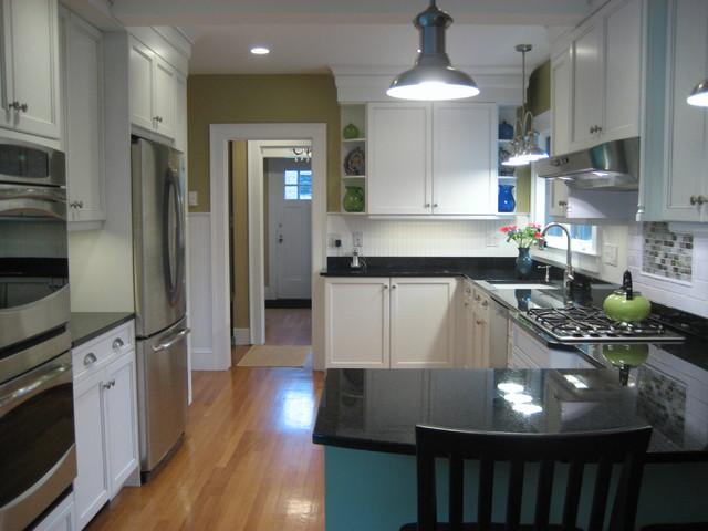 White Kitchen: Bold Not Boring traditional-kitchen