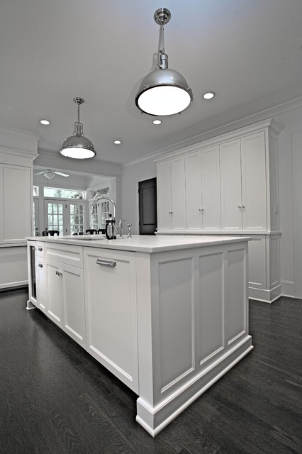 White Kitchen Briarcliff traditional-kitchen