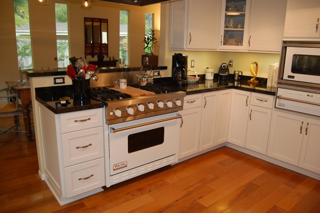 contemporary kitchen by Laurie Burke