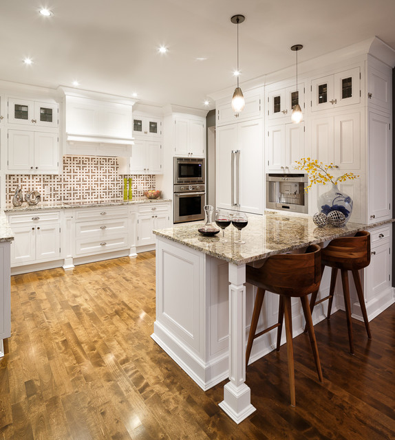 White Kitchen By Astro Design Ottawa Traditional Kitchen Ottawa By Astro Design Centre