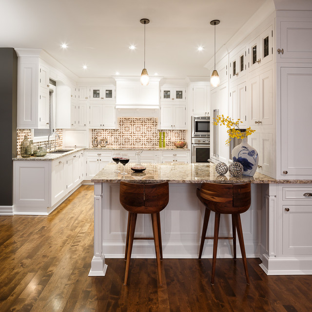 Kitchen Design Ottawa: White Kitchen By Astro Design