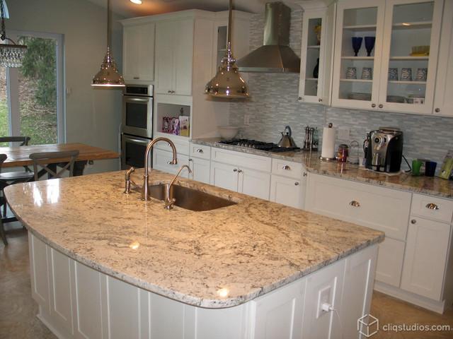 White Kitchen Cabinets Contemporary