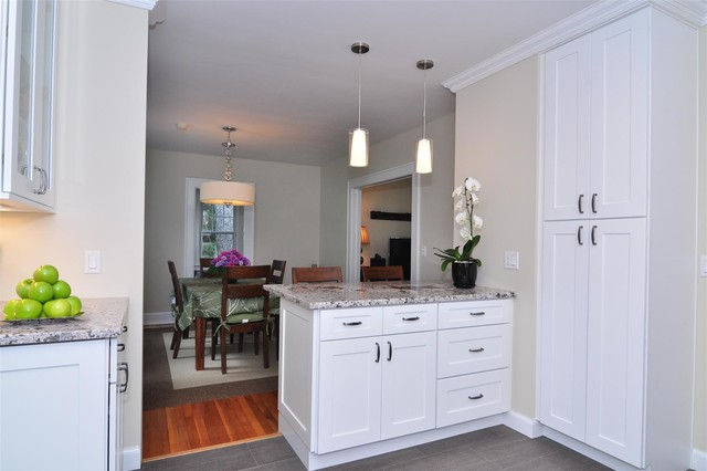 White Kitchen Cabinets Ice White Shaker Door Style