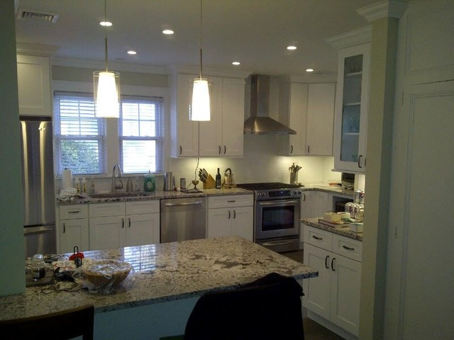White Kitchen Cabinets Ice White Shaker Door Style Kitchen Cabinet Kings Kitchen