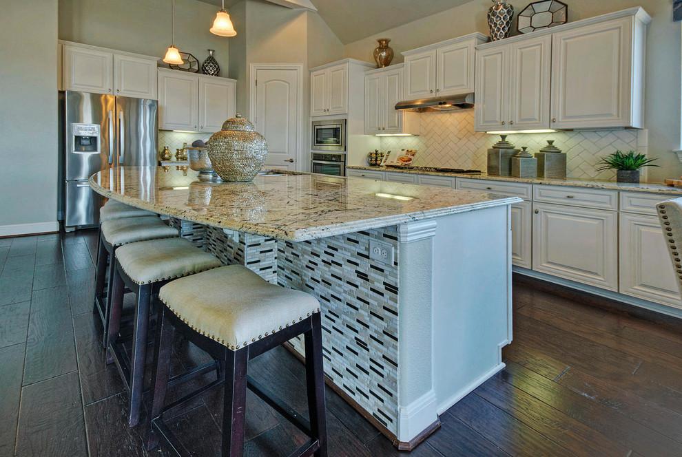 White Kitchen Cabinets - Modern - Kitchen - Austin - by ...