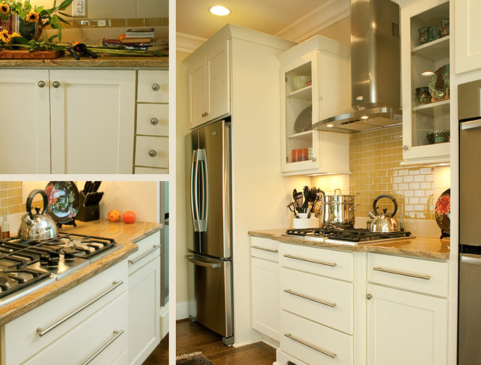 White Kitchen Cabinets | Rockford Door Style | CliqStudios ...