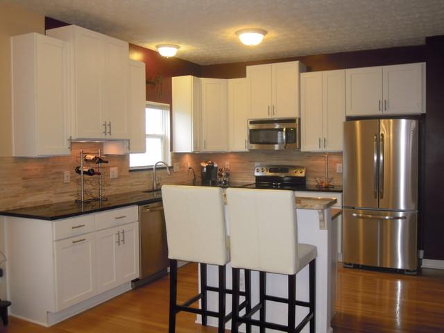 White Kitchen Cabinets Rockford Door Style Cliqstudios Contemporary Kitchen Minneapolis By Cliqstudios Houzz Au