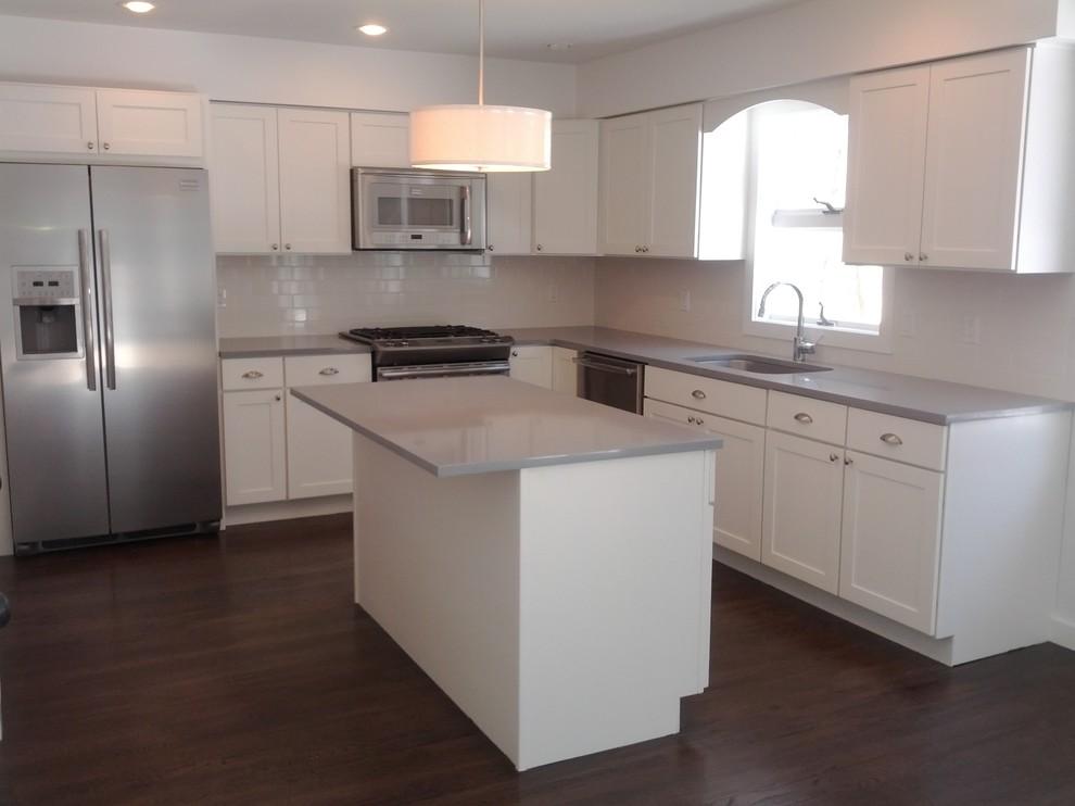 White Kitchen Cabinets | Shaker Cabinets | CliqStudios ...