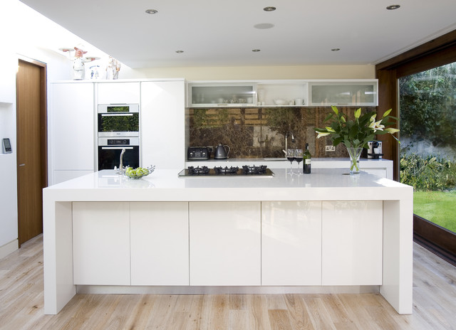 White kitchen - Modern white kitchen design ideas ...
