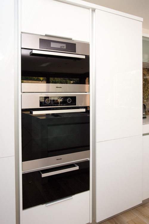 Photos Of Double Oven With Microwave Built In