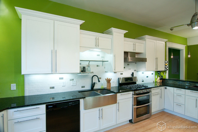 Cliqstudios Kitchen Cabinet Installation Guide Chapter: White Kitchen In A 1918 Cottage Style Farmhouse