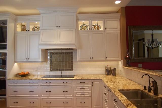 White Kitchen In Springdale Oh