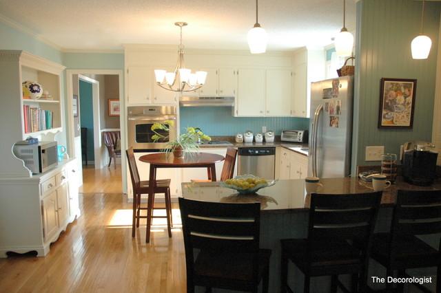 White Kitchen eclectic-kitchen