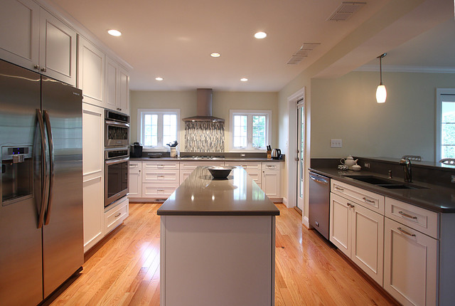 White Kitchen Oak Floor white kitchen with oak floors | winda 7 furniture