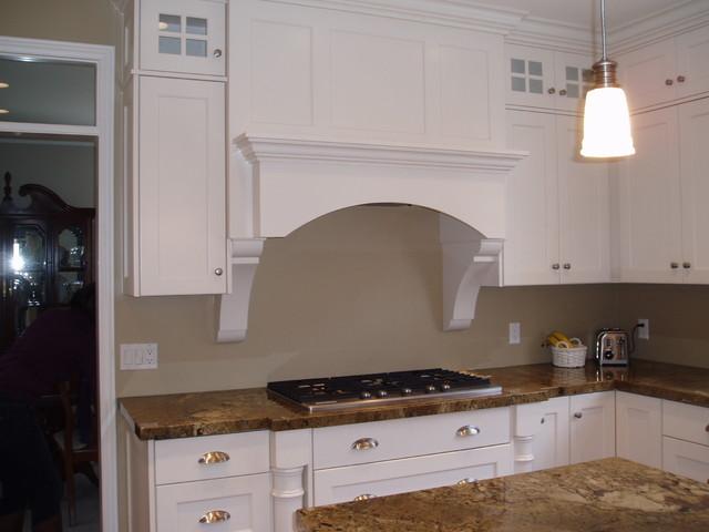 White Kitchen Remodel traditional-kitchen