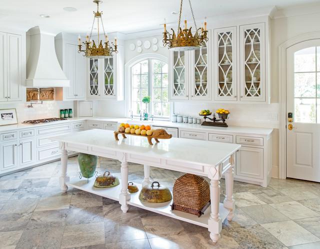 White Kitchen - Traditional - Kitchen - Nashville - by Sanford Myers Photography LLC