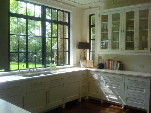 White Kitchen Steel Window Kitchen Other