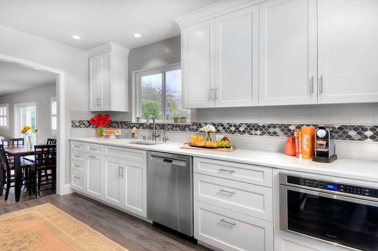 White Kitchen Update
