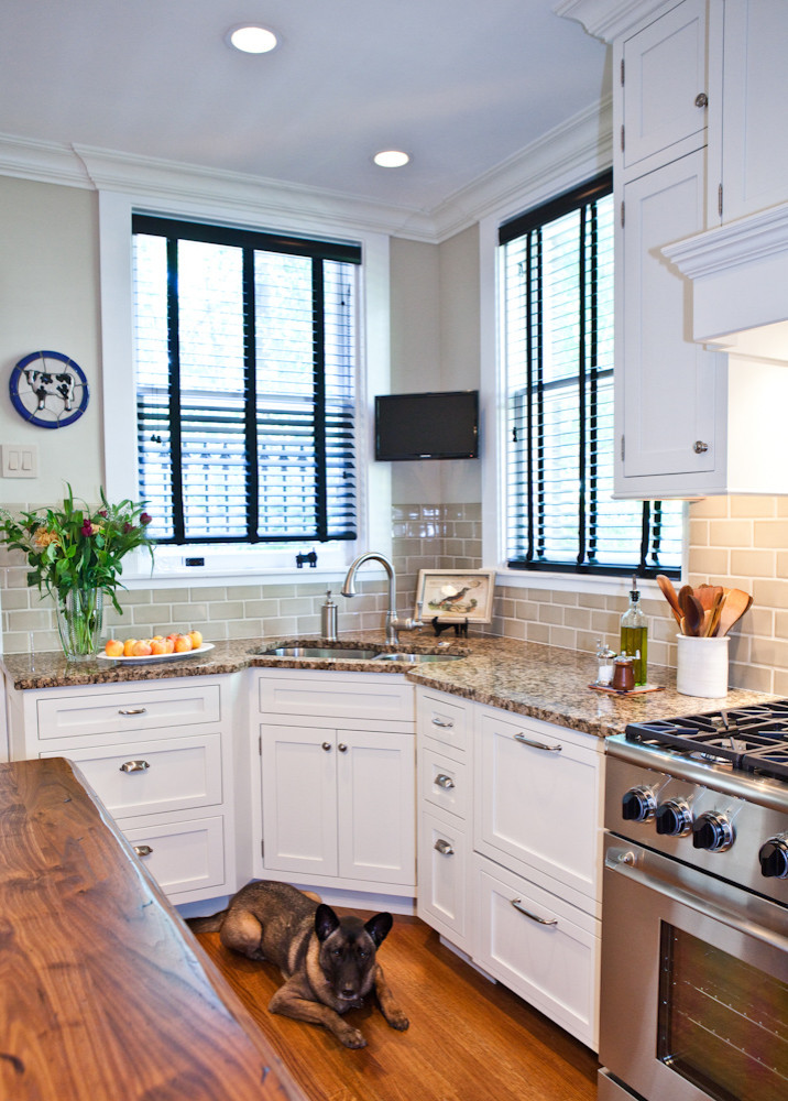 Corner Kitchen Window Houzz