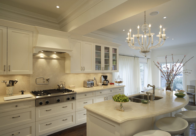 White kitchens for Traditional white kitchens