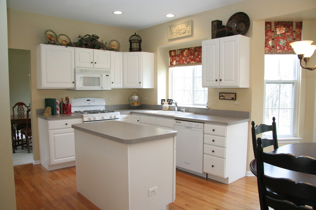 White kitchens traditional kitchen chicago by the terri