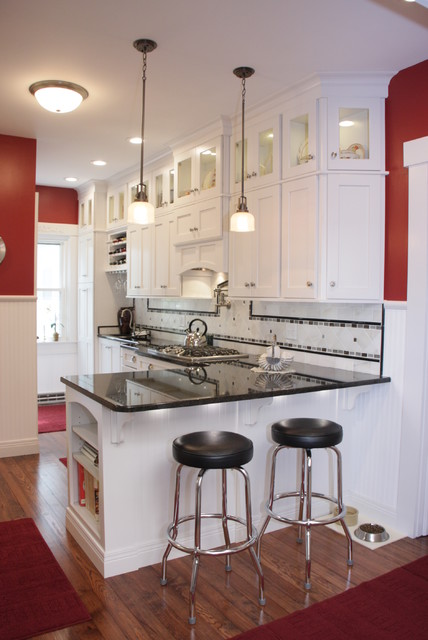 White Kitchens With A Twist Transitional Kitchen Cincinnati By Mauk Cabinets By Design