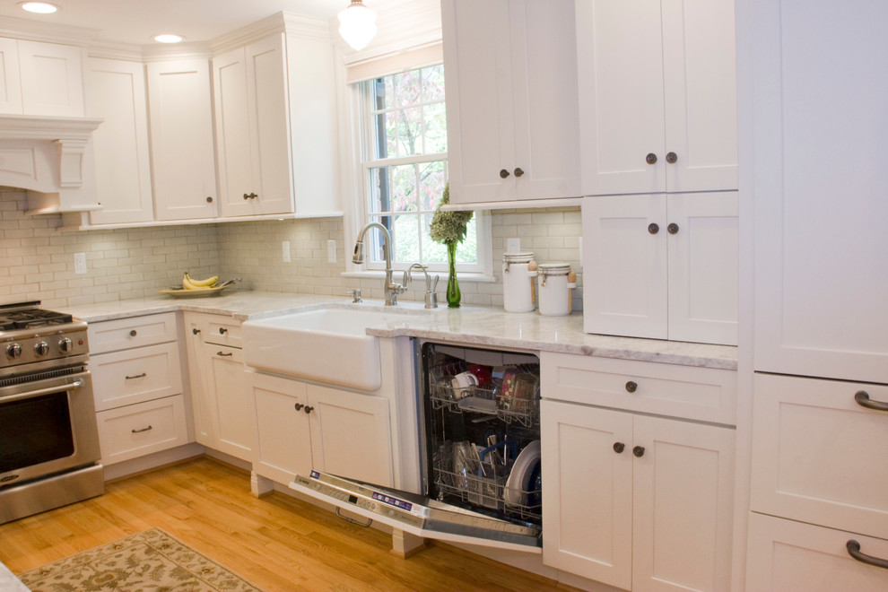 White Kitchens with a twist - Transitional - Kitchen ...
