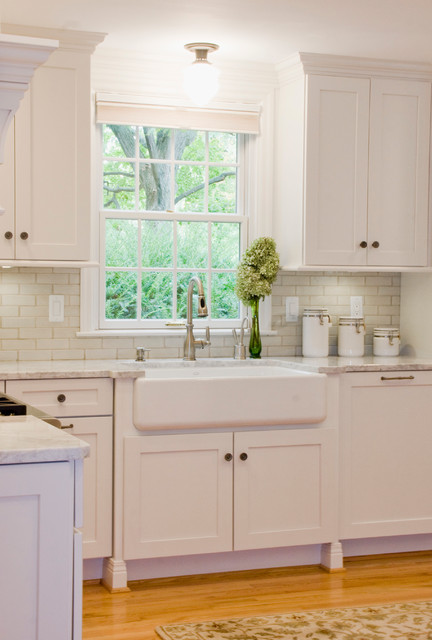 White Kitchens With A Twist Kitchen Cincinnati By Mauk Cabinets By Design
