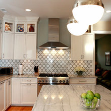 White Macaubas Quartzite Kitchen