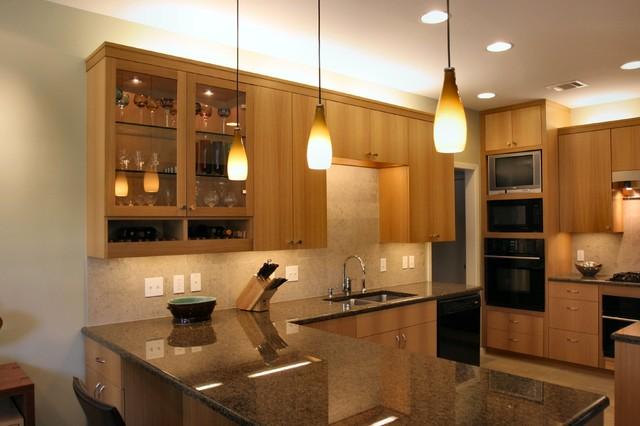 White oak kitchen - Modern - Kitchen - Austin - by Paul DeGroot