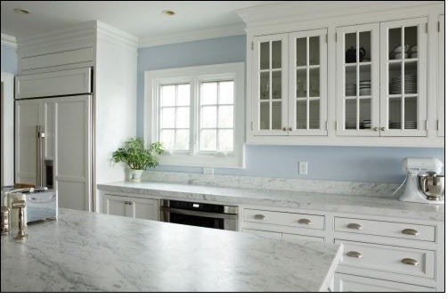 White on White Contemporary KitchenContemporaryKitchen