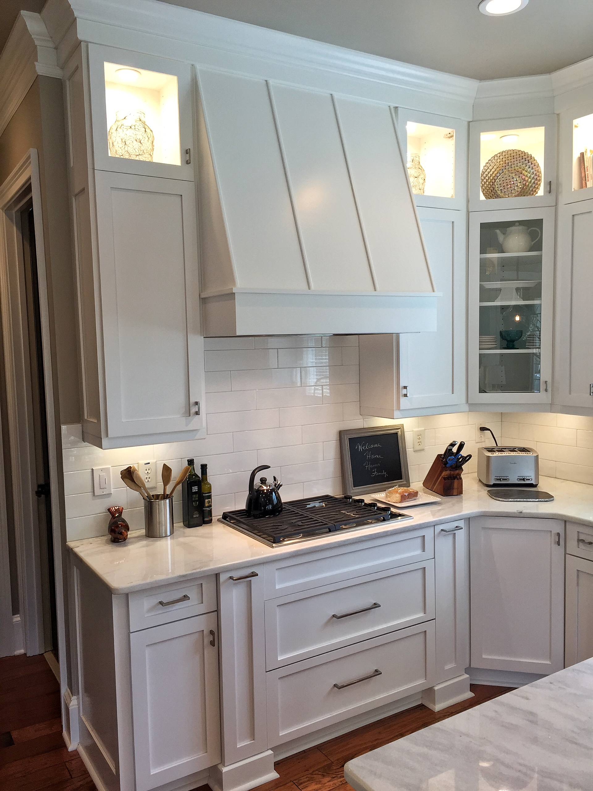 White on White Kitchen Remodel