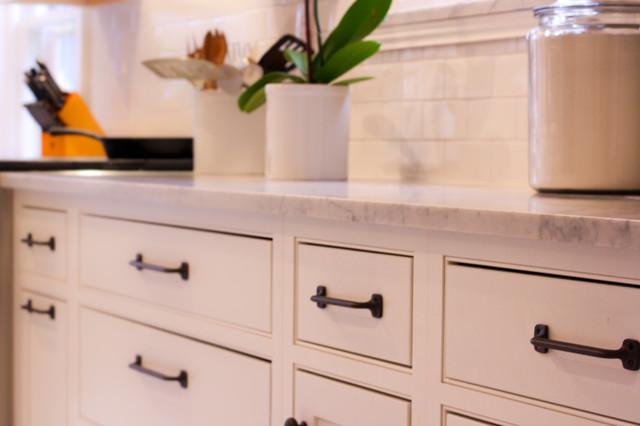 White On White Kitchen contemporary-kitchen