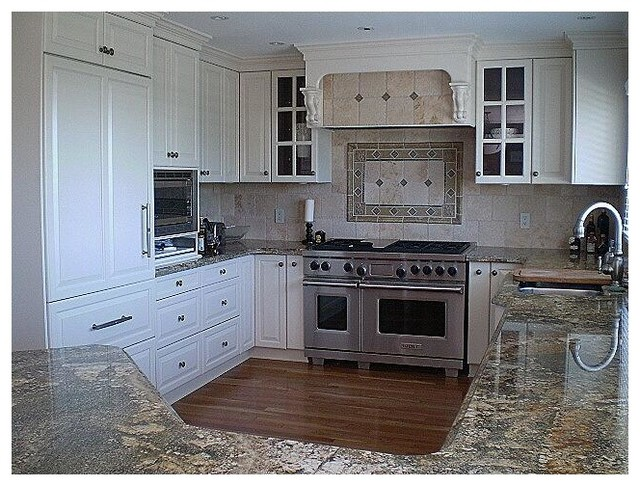 White Painted Cabinetry traditional-kitchen