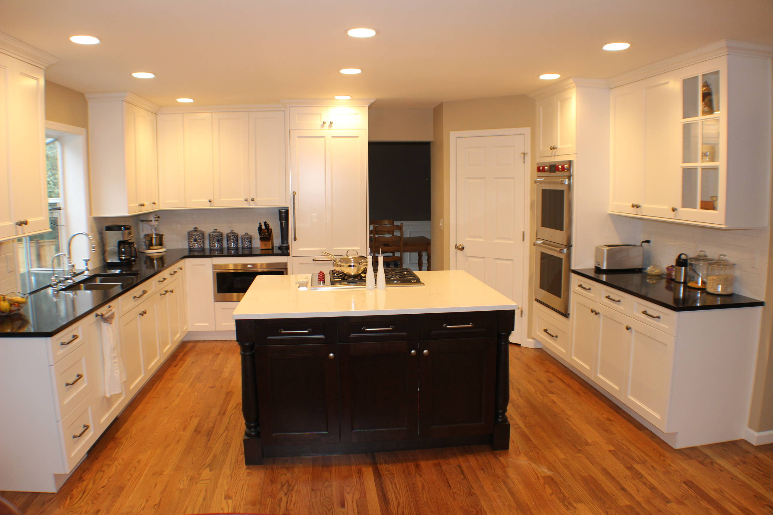 White Painted Kitchens