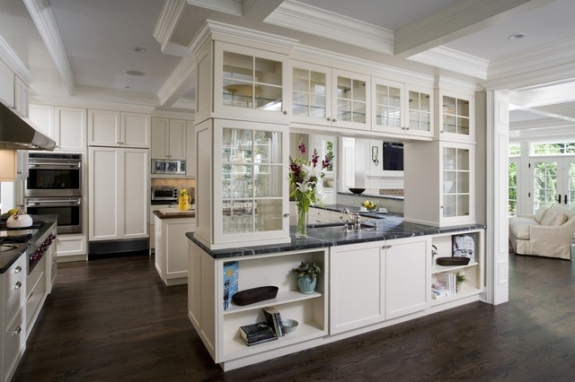 Winnetka Residence traditional kitchen
