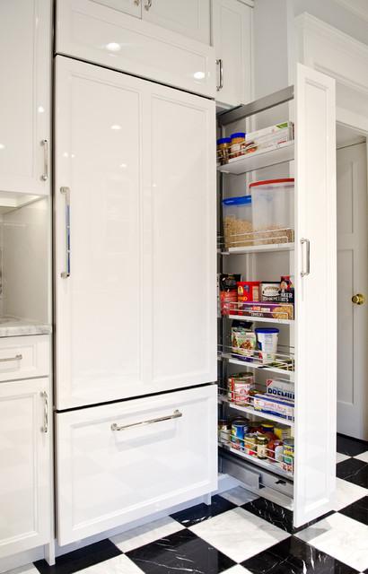 White Park Road transitional-kitchen