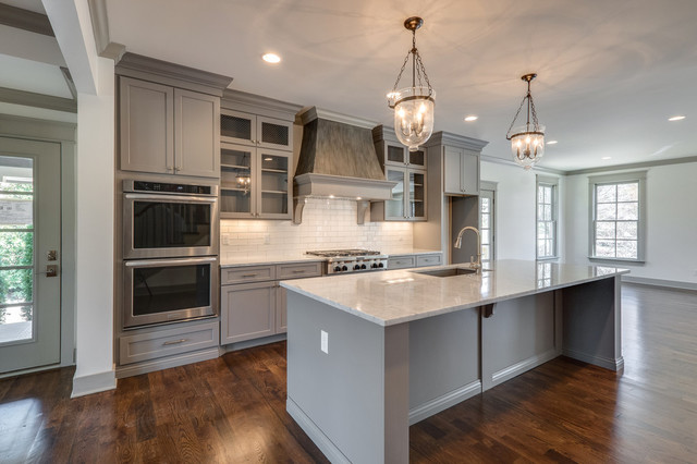 White Pines Building Group-Leland - Transitional - Kitchen ...