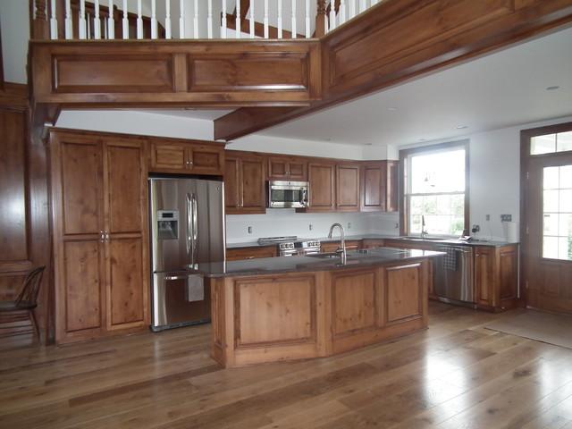White Post home kitchen