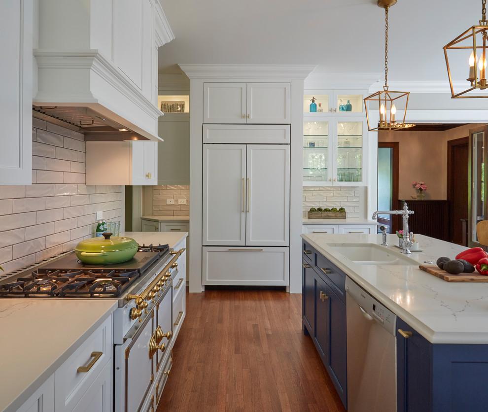 White Prairie Kitchen - Craftsman - Kitchen - Chicago - by ...