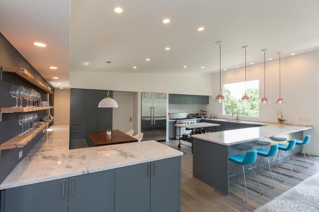 White Princess Quartzite   Modern   Kitchen   San Francisco   by   White Princess Quartzite modern kitchen. Princess Design Kitchens. Home Design Ideas