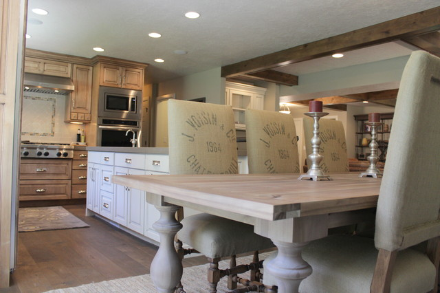 White Residence rustic-kitchen