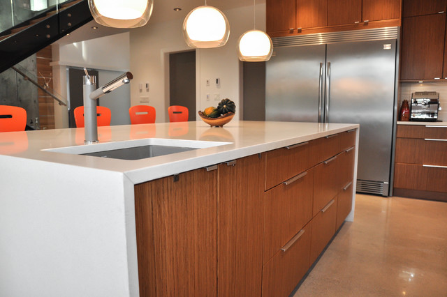 Modern House Build Modern Kitchen Vancouver By Square One Contracting