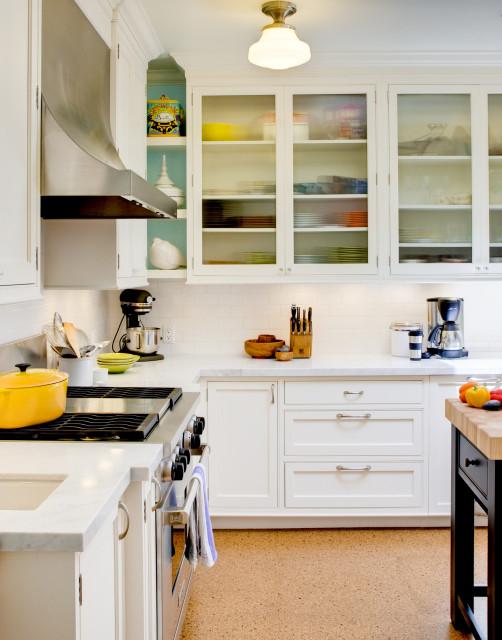 White Rutt Kitchen in San Francisco traditional-kitchen