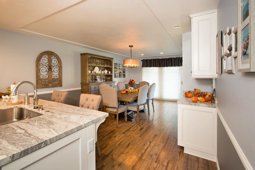 White Shaker Kitchen Cabinetry - Modern - Kitchen ...