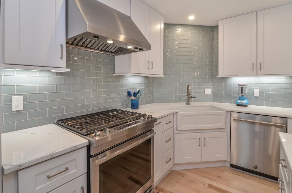White Shaker Kitchen Design Williamsburg, VA ...